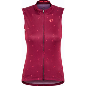 PEARL iZUMi Select Graphic Maillot sans manches Femme, beet red wish